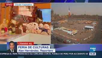 Feria Culturas Zócalo Capitalino
