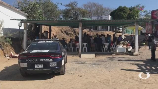 Fuerzas federales iban por líder comunitario de Xaltianguis Guerrero