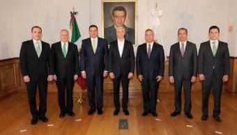 Cambios gabinete Alfredo del Mazo Edomex