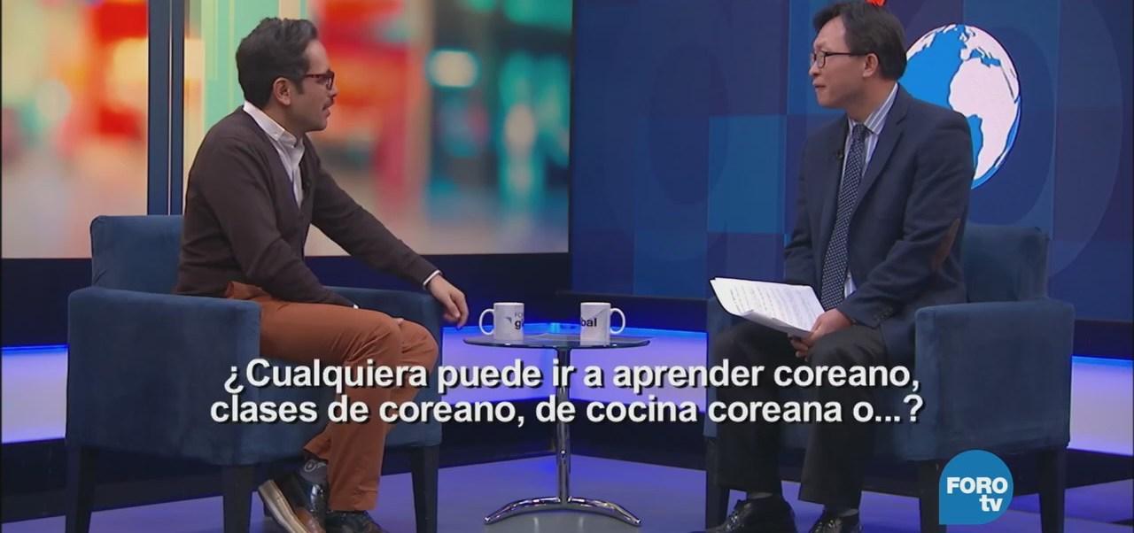 Genaro Lozano entrevista a Kijing Song