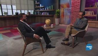 Genaro Lozano entrevista a Reinaldo Díaz Ohep