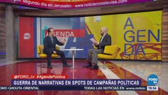 Guerra Narrativas Spots Campañas Políticas Claudio Flores