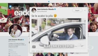 Guerra de tuitazos entre Anaya y Meade