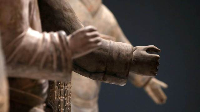 Roban dedo a guerrero terracota de China durante exhibición en Estados Unidos