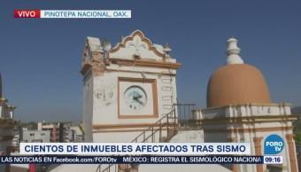 Cientos Viviendas Afectas Tras Sismo Pinotepa Nacional Oaxaca