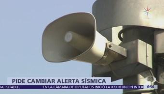 Habitante de la CDMX pide cambiar tono de la alerta sísmica