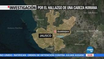 Hallan cabeza humana abandonada en una hielera, en Guadalajara, Jalisco