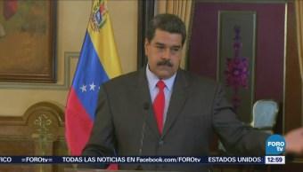Hay campaña internacional contra Venezuela, asegura Nicolás Maduro