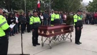 Homenajean a agente de tránsito asesinada en Tamaulipas