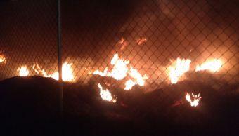 sofocan incendio terreno baldio san martin texmelucan puebla