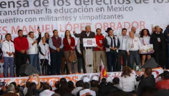 amlo nuevo acuerdo educacion construccion mejoramiento