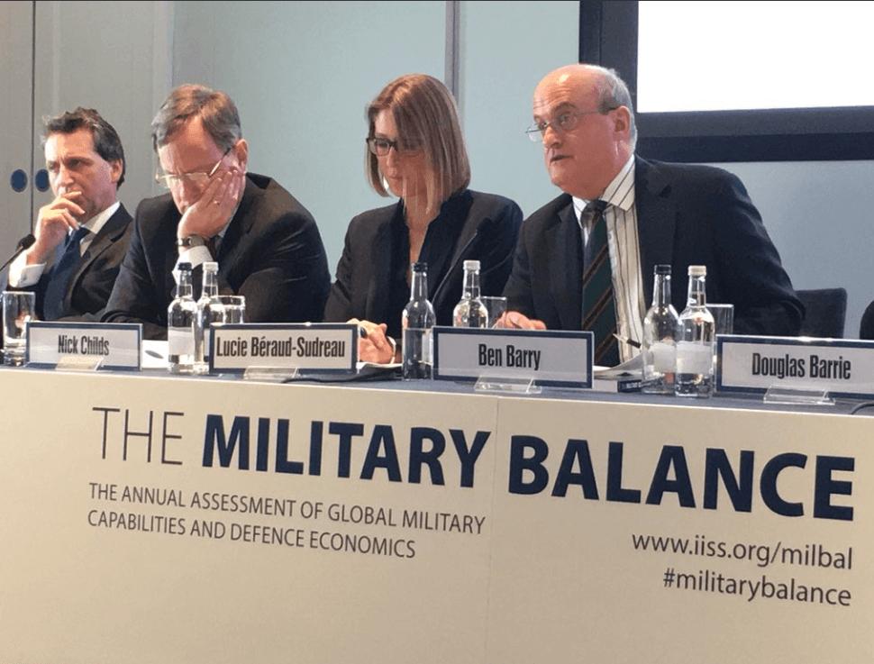 Resultado de imagen para Instituto de Estudios Estratégicos de Londres Balance mILITAR