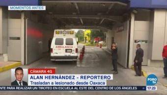 Ingresan a hospital de CDMX a menor sobreviviente del desplome de helicóptero