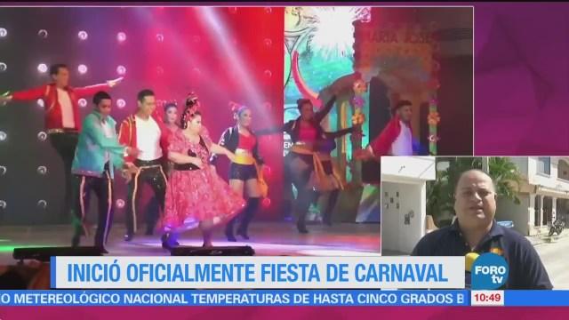 Inicia Carnaval Campeche 2018
