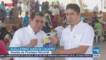 Instalan Centro Mando Recuento Daños Pinotepa Nacional