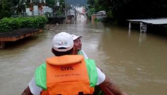 Emiten declaratoria de emergencia para diez municipios de Chiapas
