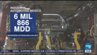 Inversión Extranjera Industria Automotriz Aumenta 35%