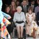 Isabel II en la Semana de la Moda de Londres