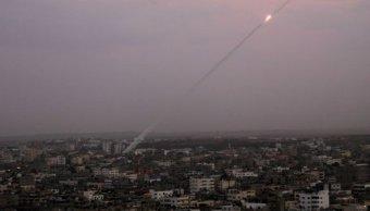 Israel identifica proyectil disparado Gaza su territorio