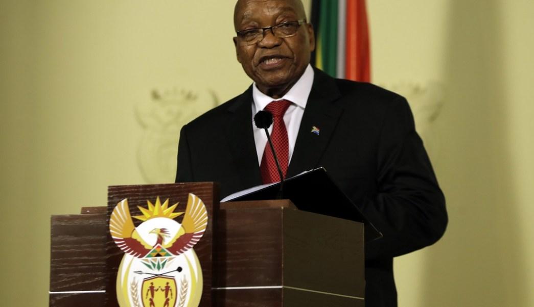 Jacob Zuma renuncia como presidente Sudáfrica