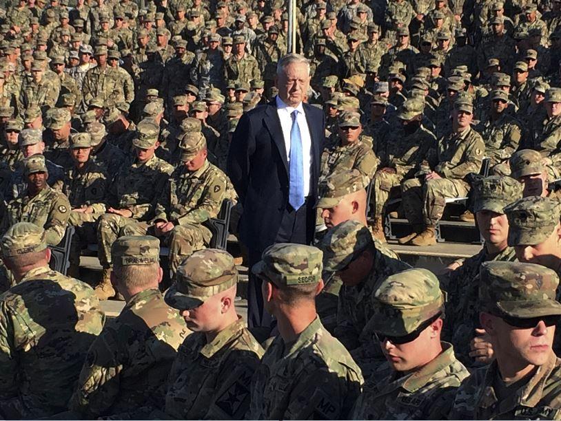 Mattis pide más presupuesto para que Ejército de EU sea más 'letal'