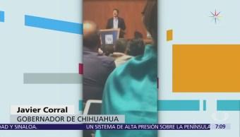 Javier Corral aclara que no ha roto con Anaya ni con el PAN
