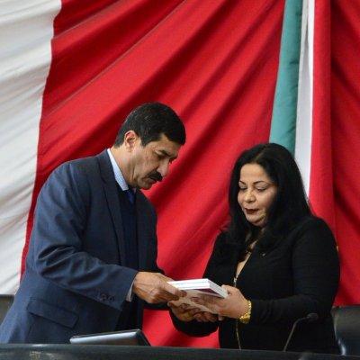 Javier Corral presenta su primer informe de Gobierno