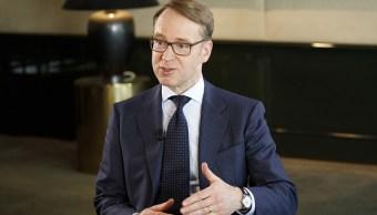 Weidmann recomienda al Banco Central Europeo reduzca estímulos