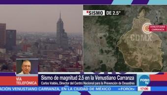 Sismo Venustiano Carranza Fallas Atraviesan Valle México