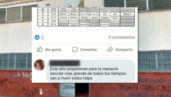 Joven amenaza con masacre en Buenos Aires