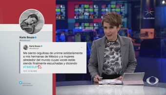 Karla Souza se pronuncia contra el acoso sexual