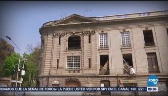 La casa de los Rivas Mercado