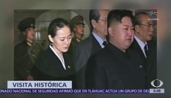 La hermana de Kim Jong-un viajará a Surcorea en los Olímpicos de Invierno