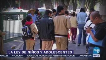 La ley de niños y adolescentes