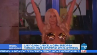 Lady Gaga cancela presentaciones de su gira 'Joanne'