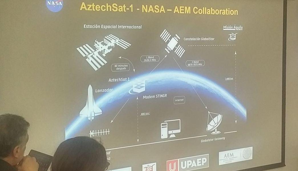 Lanzarán nanosatélite mexicano desde Estación Espacial Internacional en 2019