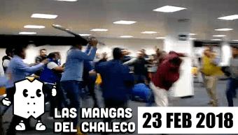 Mangas Chaleco Políticos Van Con Todo Ahora Se Dan Hasta Silla Santos Briz Las Mangas Del Chaleco