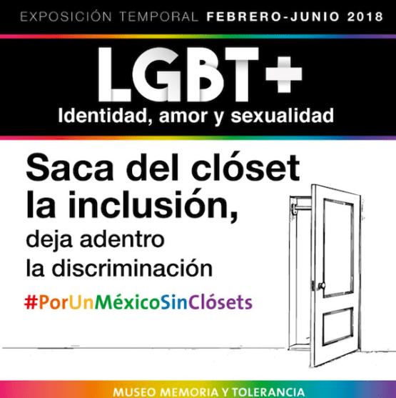 LGBT+ en el Museo de Memoria y Tolerancia
