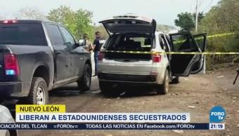 Liberan a estadounidenses secuestrados en Nuevo Léon