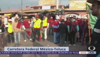 Llegan peregrinos de Toluca a la Basílica de Guadalupe