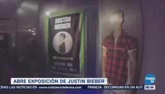 #LoEspectaculardeME: Abren exposición dedicada a Justin Bieber