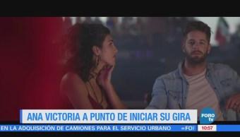 #LoEspectaculardeME: Ana Victoria alista su gira 'Reina de mi mundo tour'