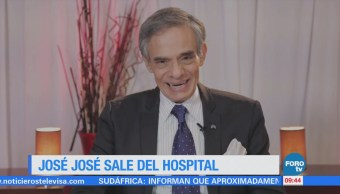 #LoEspectaculardeME: José José es dado de alta del Hospital de Nutrición