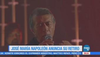 #LoEspectaculardeME: José María Napoleón anuncia su retiro