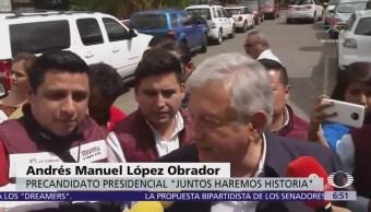López Obrador acusa al INE de no poner orden en intercampaña
