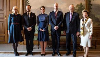 Duques de Cambridge realizan primera visita oficial a Noruega. (EFE)