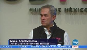 Mancera afirma que han dado resultados los operativos en CU