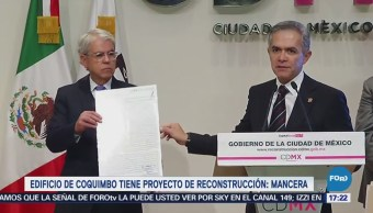 Mancera presenta certificado de reconstrucción para afectados por sismo 19S