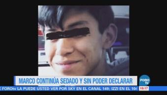 Marco Antonio aún no declara ante autoridades