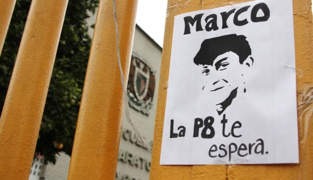 Reaparece policía implicado en detención de Marco Antonio Sánchez